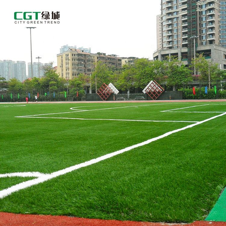 CGT green Soccer football artificial turf carpet grass prices