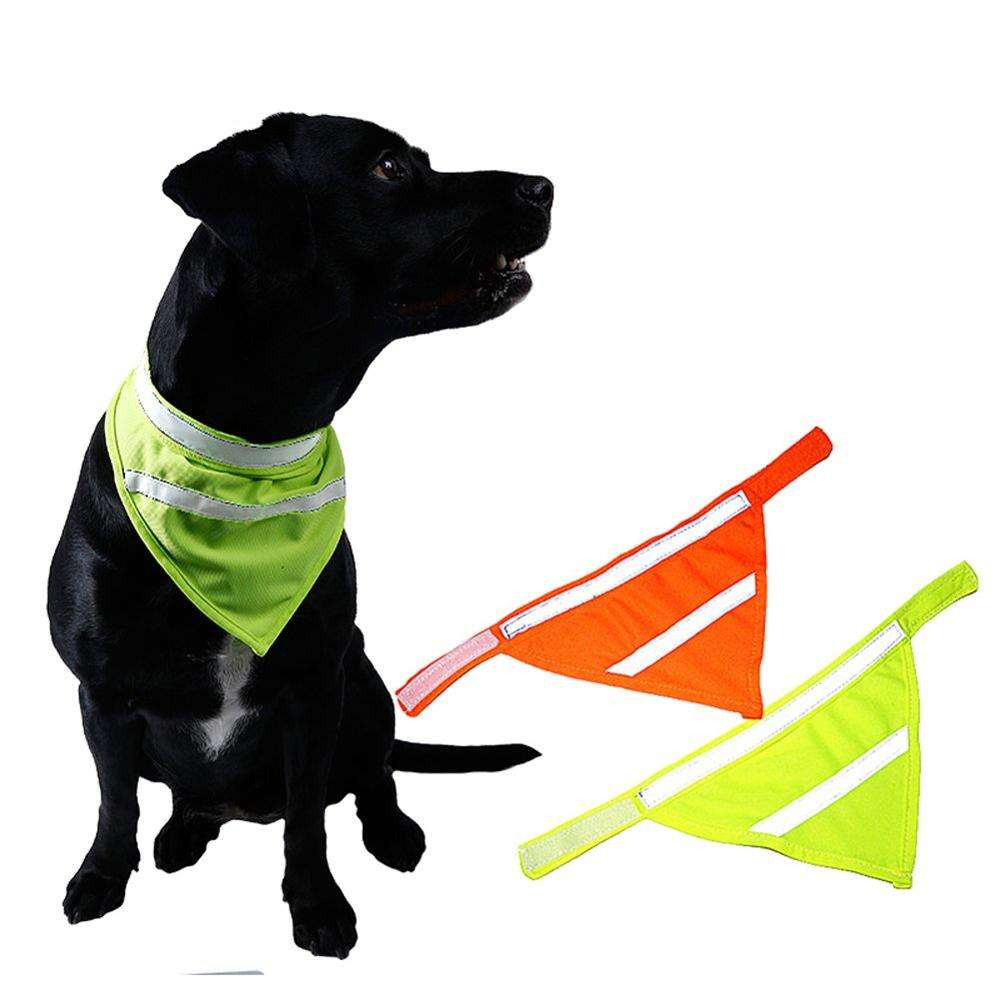 Dog Reflective Scarf Safety Pet Bandana
