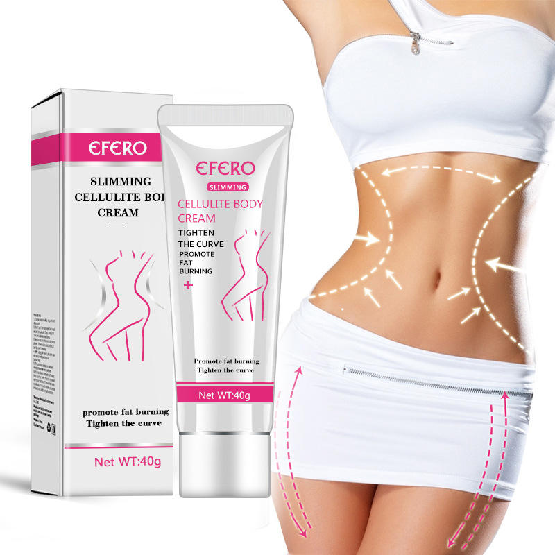 Weightloss Body Slimming Cream Fat Burning Anti Cellulite Cream Flat Tummy Hot Slimming Gel for Body Shaping