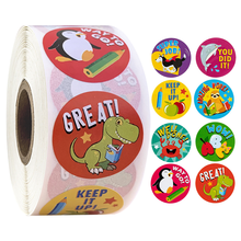 Sticker for kid custom adhesive label die cut roll sticker with high quality for toy