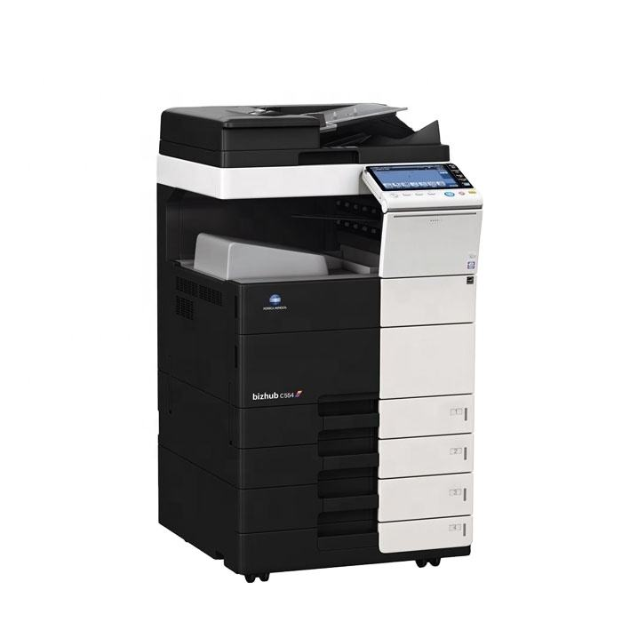 Low Price Refurbished Konica Minolta Bizhub C554 C554e C454 C454e Used Colour Photocopy Machine Copiers for Sale