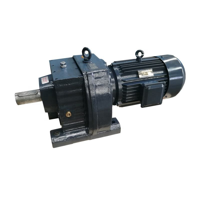 production line gearbox Electric Motor Speed Reducer with reduction gear for conveyor concrete mixers