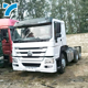 Factory price good quality used second hand tow tractor truck head used tractor trailer truck head for sale
