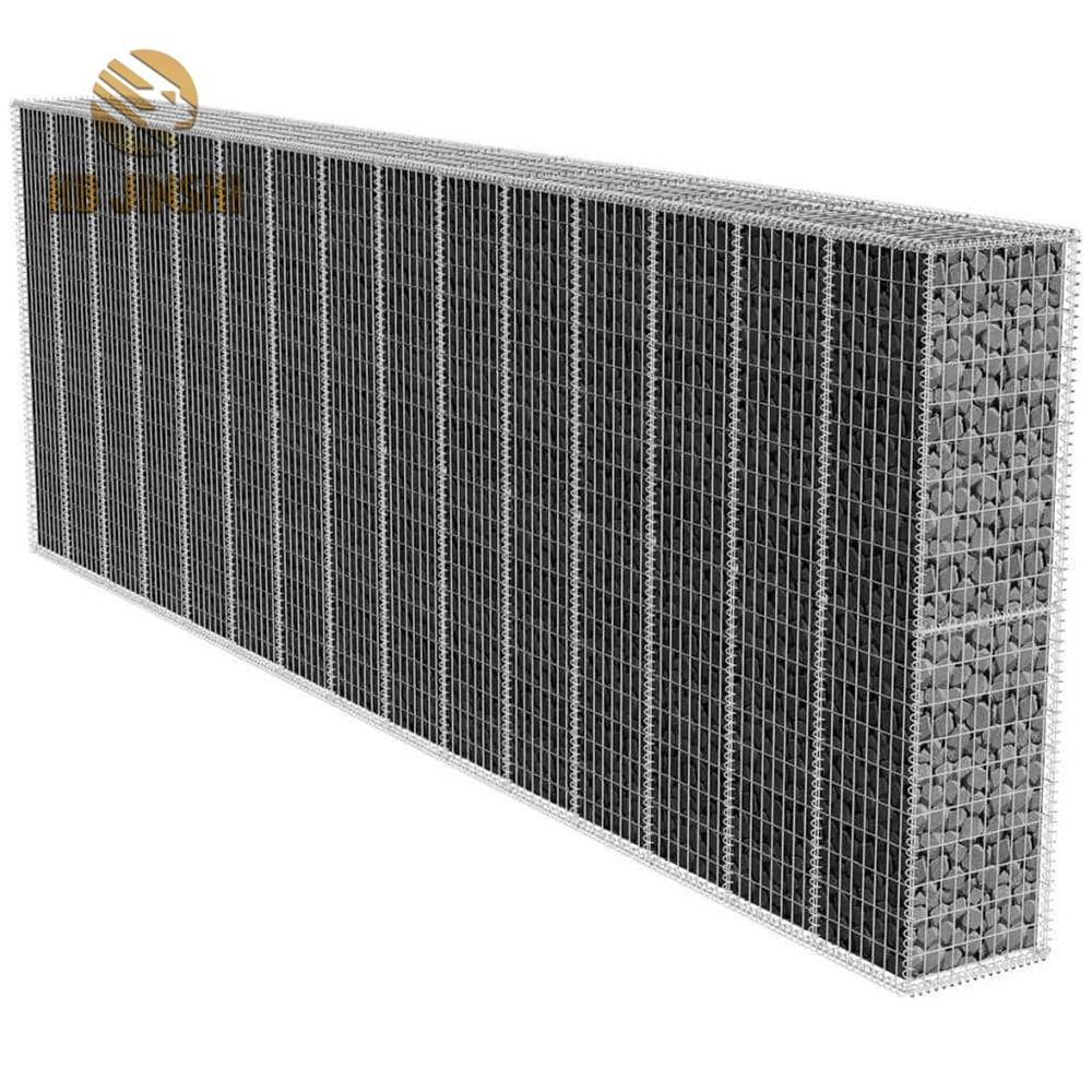 1x1x1m hot dipped galvanized welded gabion