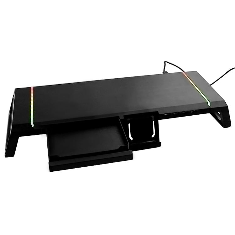 Great Roc 4 in 1 ABS monitor stand with RGB soporte mesa plegable mini folding table laptop & pc desk computer desks