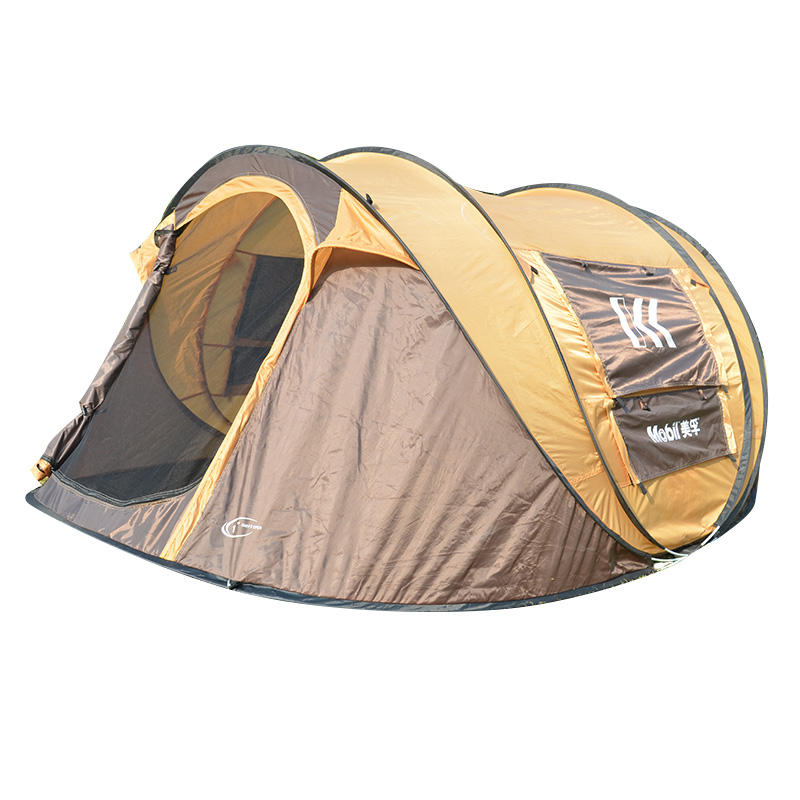 4-6Person Instantanée <span class=keywords><strong>Popup</strong></span> Tente de <span class=keywords><strong>Camping</strong></span>-AUCUN Assemblage Requis-Installation Facile en Quelques Secondes-Idéal pour le Beau Temps <span class=keywords><strong>Camping</strong></span>, familles
