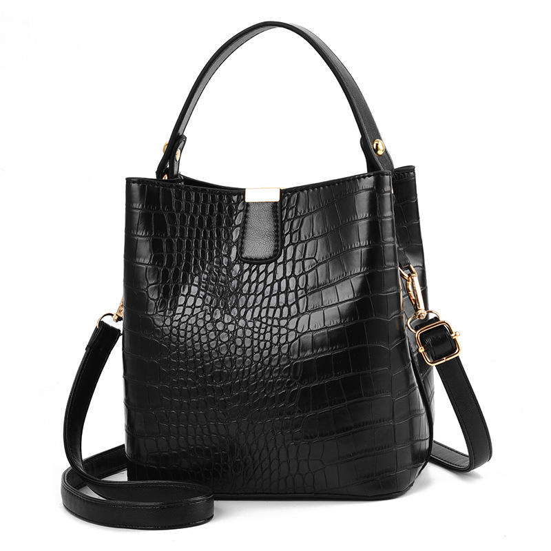 Cheap Bolso Cuero Mujer Designer Bags Bucket Handbags Famous Brands Leather For Women