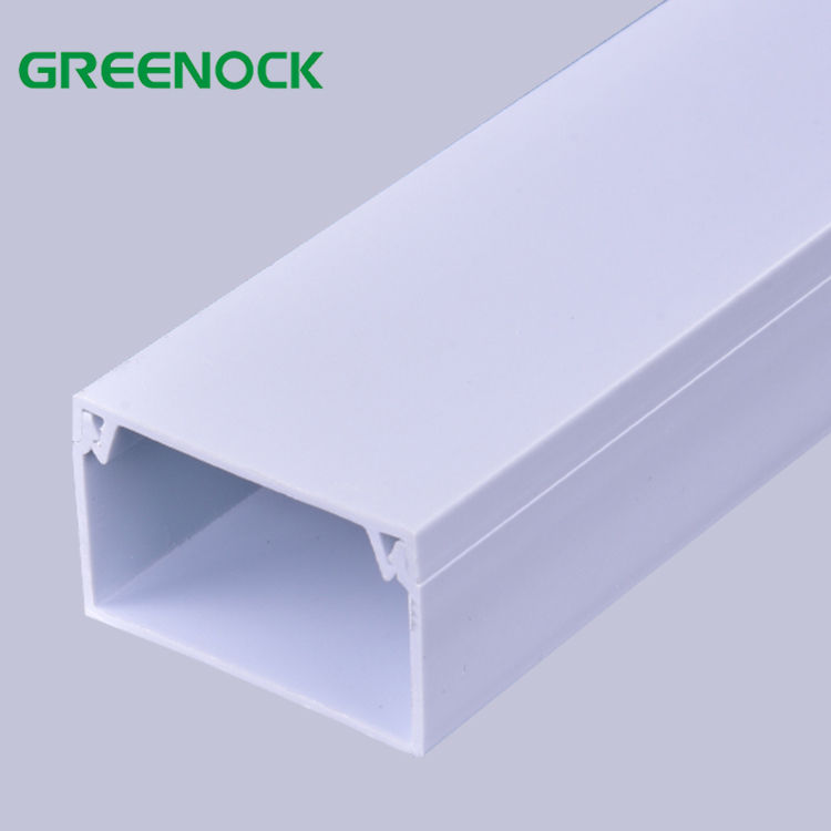CE Fire-Resistant Solid Type Protective Pvc Cable Tray Trunking/Pvc Cable Casings