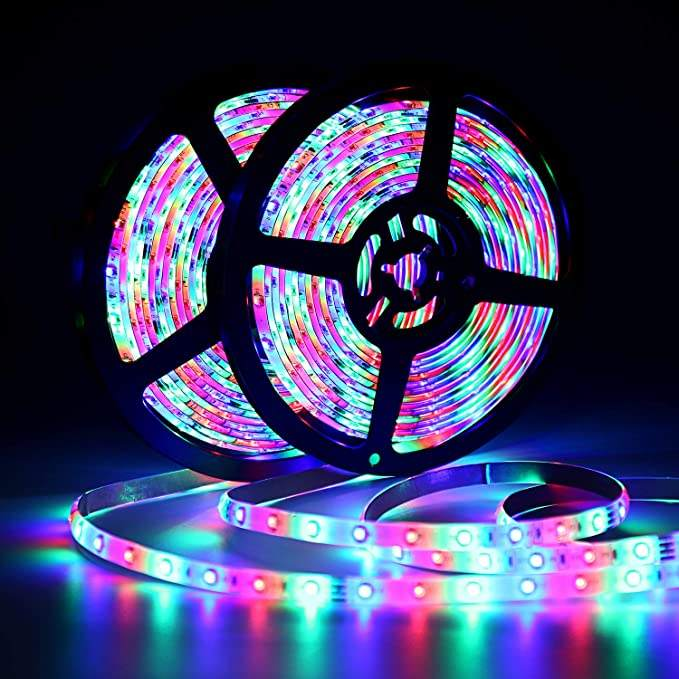 Outdoor waterproof tape light flexible rgb daybetter led strip lighting
