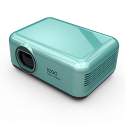 Fashion High End high resolution LED bt4.0/WIFI/4G/NFC LCOS mini projector 131*93*56mm with infrared port and 3000mAh battery