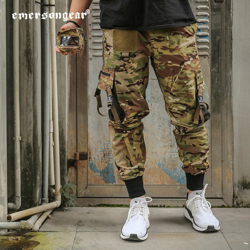 Cargo Pants Emersongear Tactical Waterproof Men's Trousers Sport Men Casual Pants Sweat Cargo Pants Men With Mini Pouch