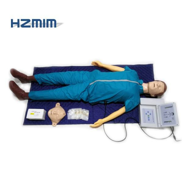 realistic medical training dummy CPR with controller, CPR manikin