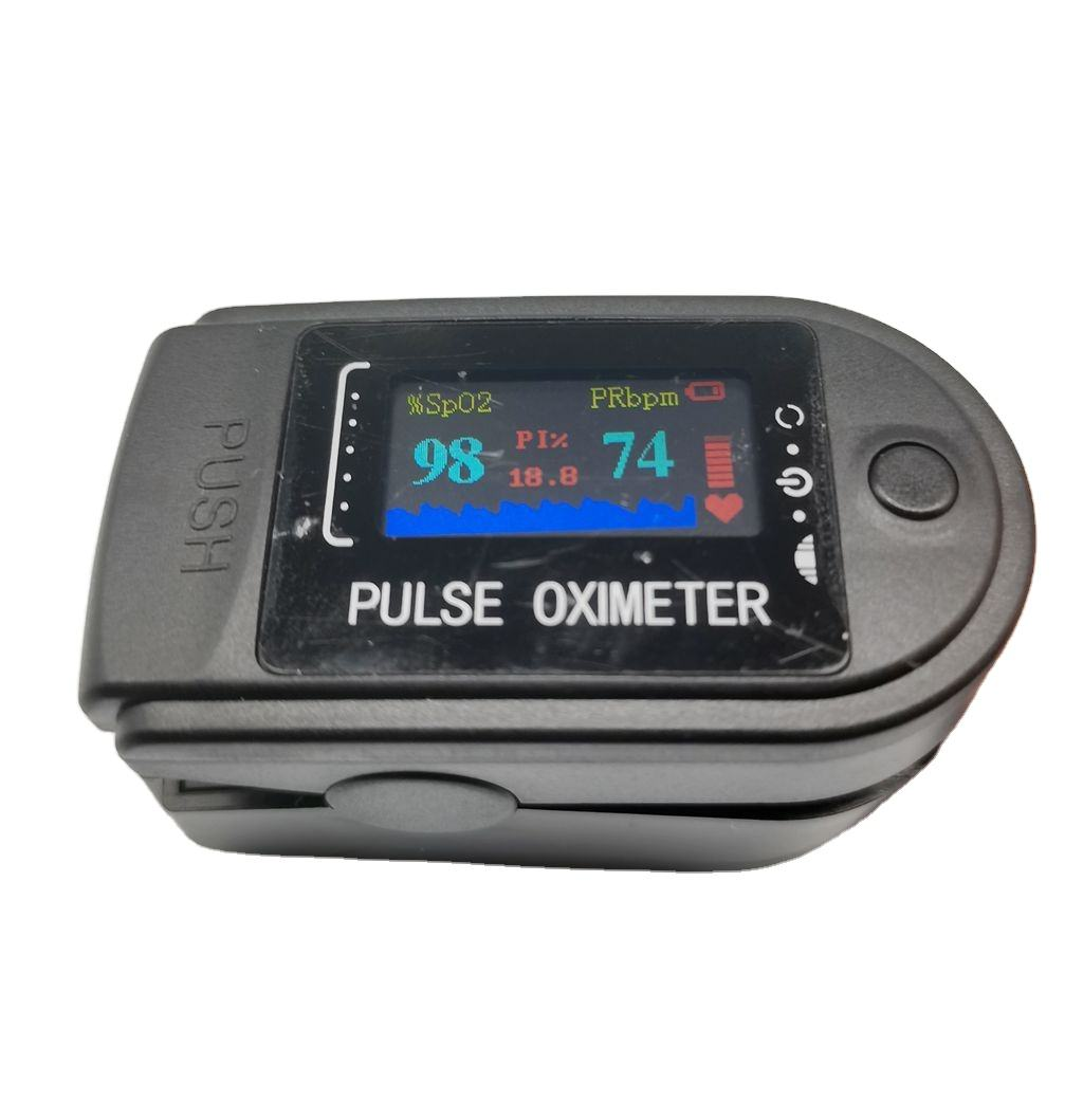 Mini Blood Oxygen Saturation Monitor Digital Oxygen Meter Fingertip Pulse Oximete