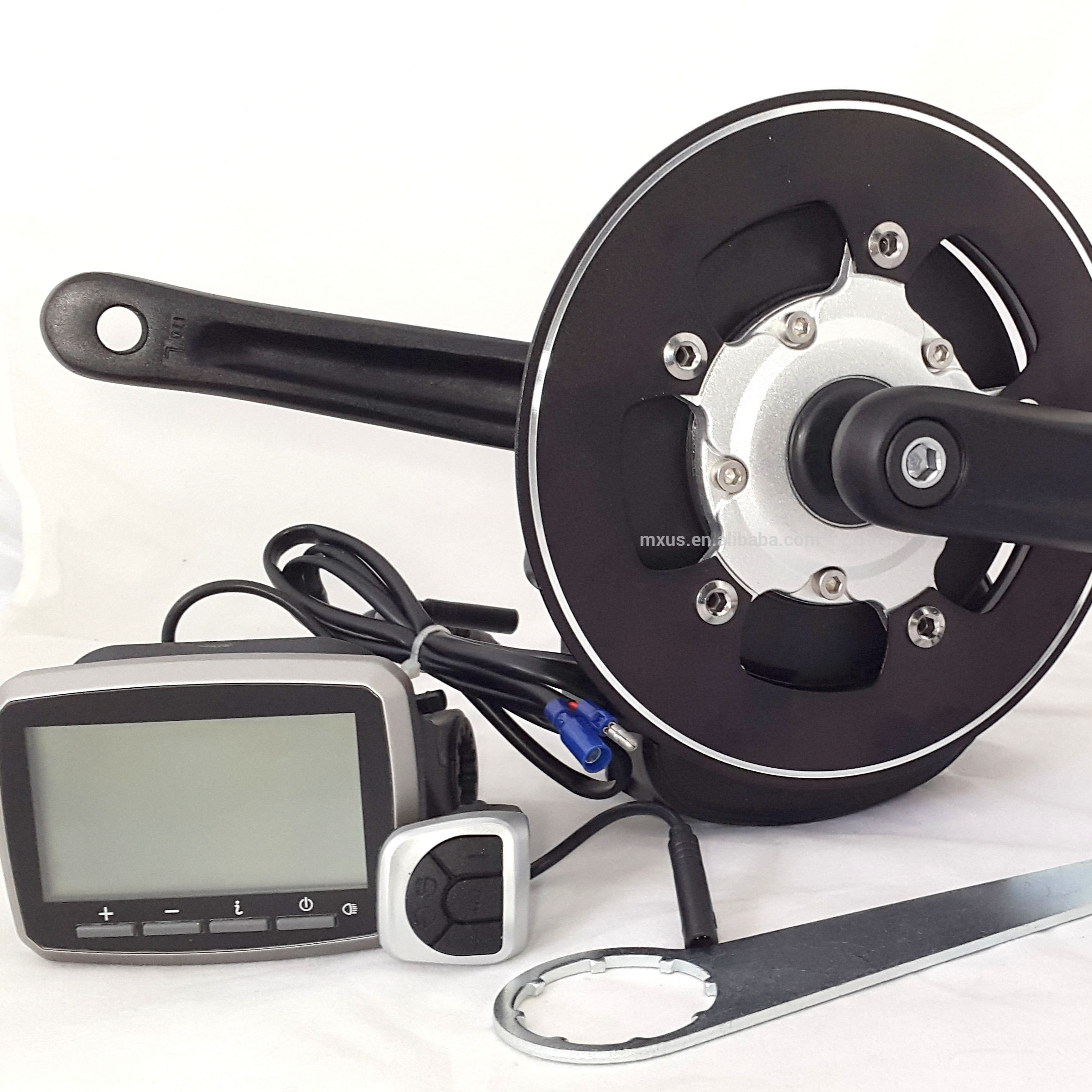 Hot selling TSDZ2 48V500W Mid Drive Motor Ebike kit with VLCD5