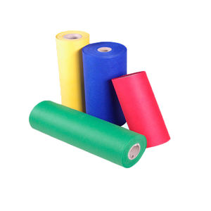 Oem Manufacturing Polyester Industrial Filter Custom 100% Pp Nonwoven Fabric Cloth Non-Woven Rolls Colorful Non Woven Fabric
