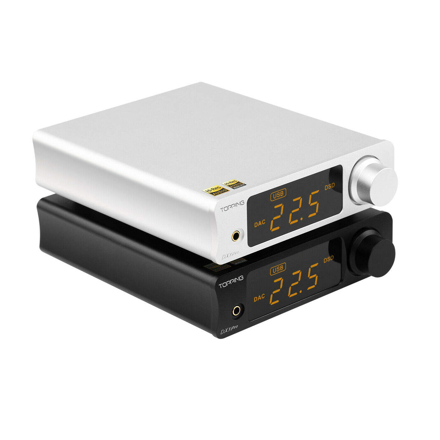 TOPPING DX3 Pro LDAC Amp AK4493 USB Bluetooth DAC Headphone Amplifier DSD512
