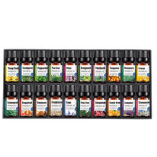 Customized Label 10ml Natural Essential Oil 100% Pure 20 pcs Essential Oil Set