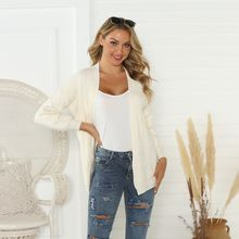 2019 Winter New Arrival Ladies Sweater Cashmere Blank Short Cardigan Sweater Female