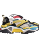 New 19SS Calvin Strike 205 Shoes 205W39NYC Carla Design By Raf Simons Leather and Suede For Trainer Men Sneakers With Box