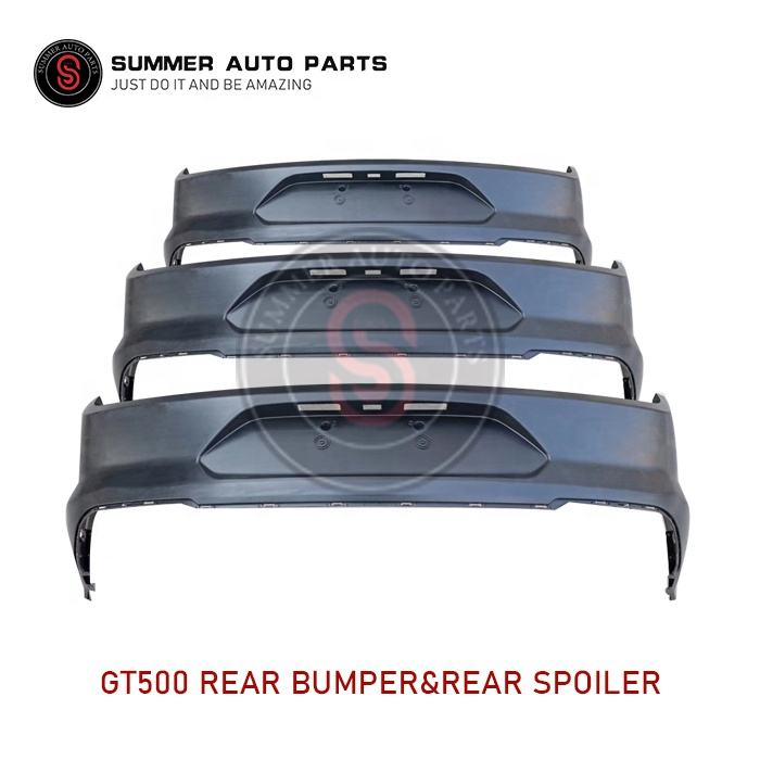 NEW polyurethane PU Material Aftermarket Bumper spoiler For 2015-2017