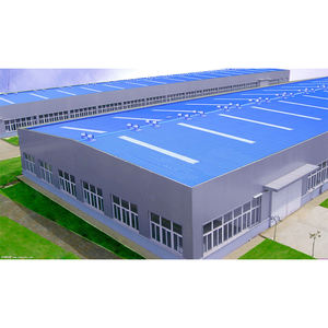 Customized Prefabricated Steel Structure Building Low Cost Factory Workshop Warehouse Steel Building