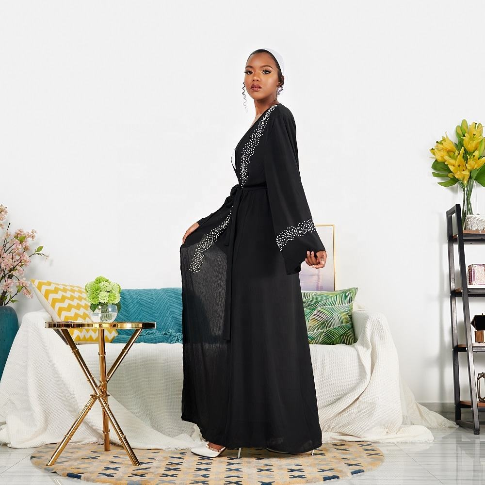 New fashion muslim clothes Dubai open abaya women dress islamic dresses ladies abaya