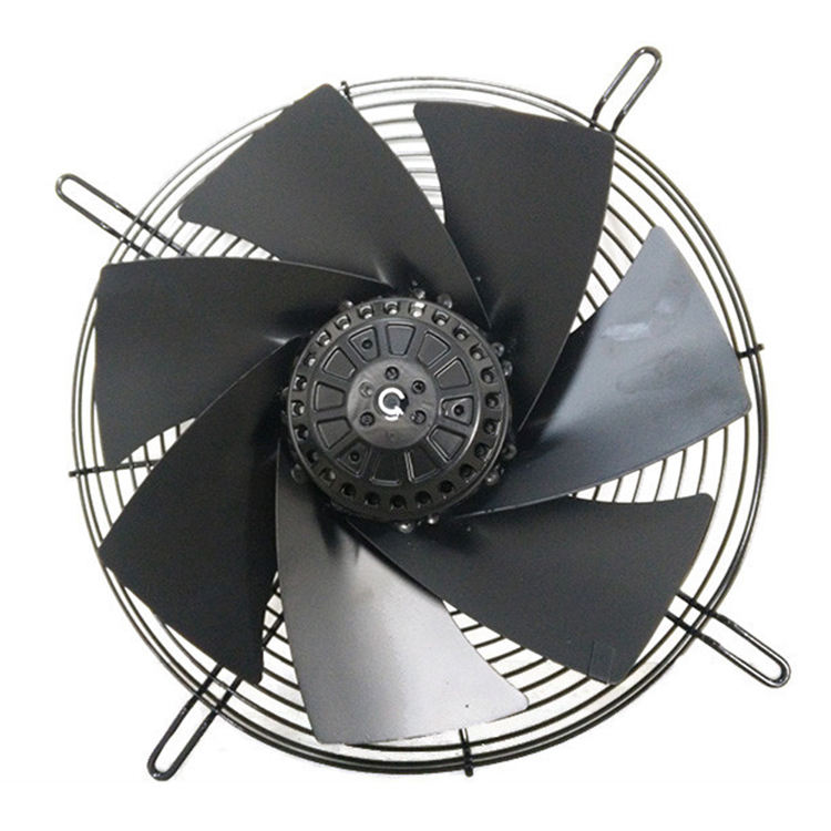 axial fan blower for spray booth