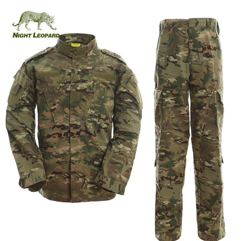 Custom Wholesale Outdoor Army Uniform Combat Tactical Military Army Clothing