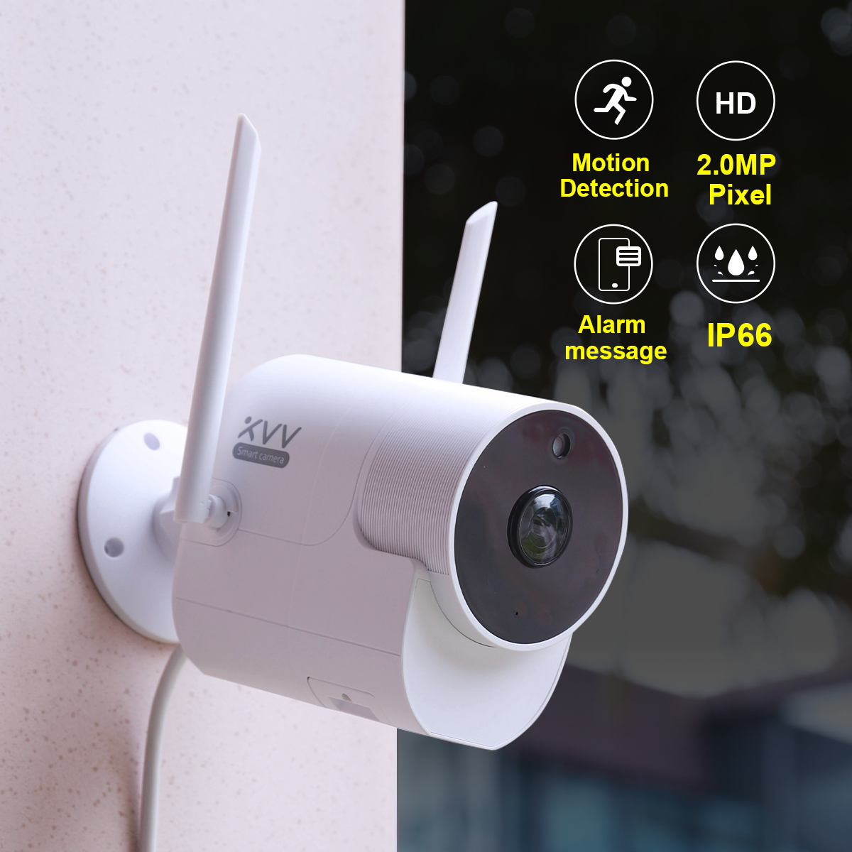 1080p p2p cloud storage Two-way Voice ip wifi camera