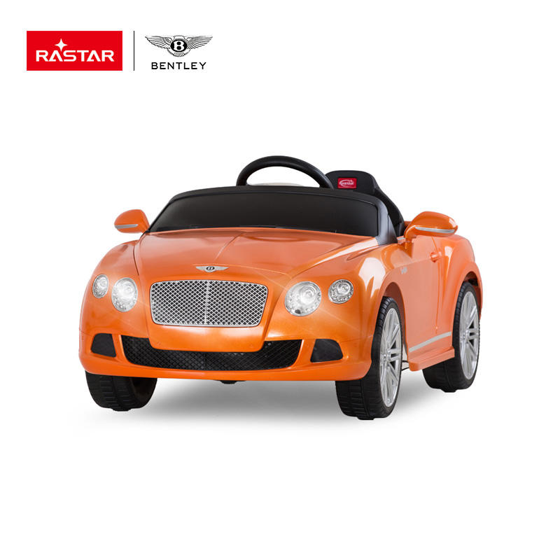 White Orange Black BENTLEY RC Battery Driving Cars Kids Big car For Children