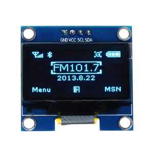 1.3 Inch oled display 128*64 IIC interface Screen White Color