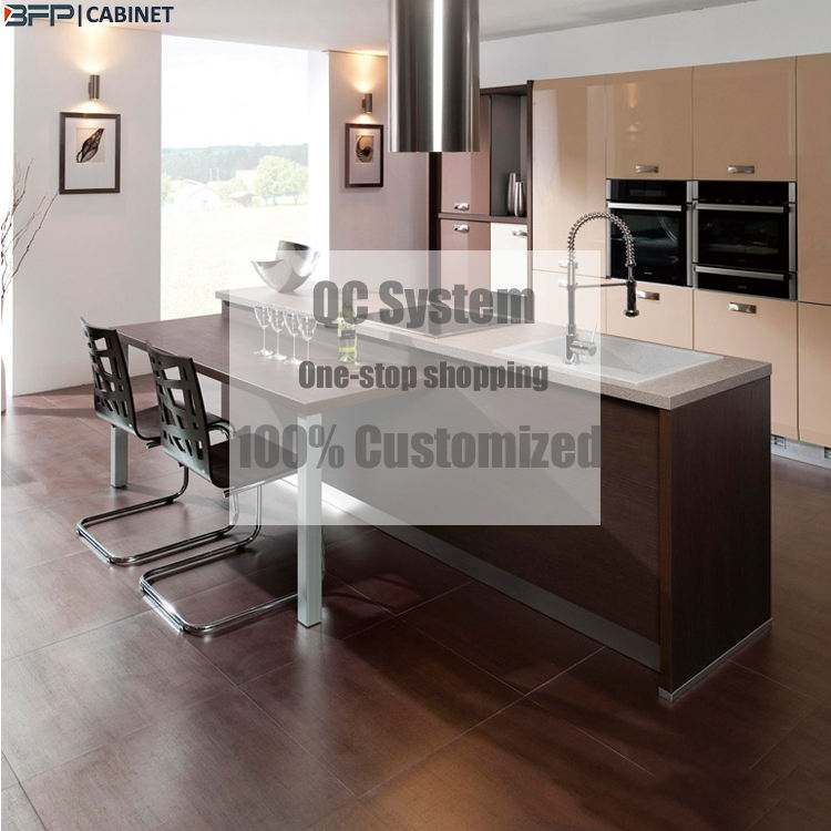 Factory Price Customize Concrete Kitchen Cabinet Agents Kitchen Cupboards Furniture