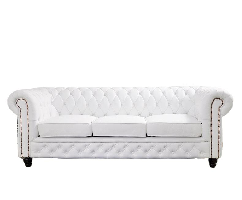 HYC-SF03 Luxus modernes Design Leder couch Wohnzimmer Chesterfield Sofa