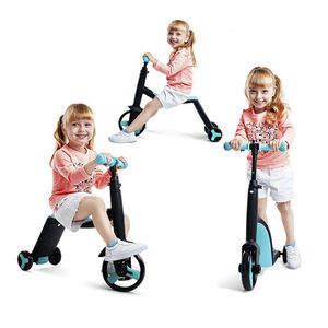 2020 Hot Selling New models kids toys baby 3 in 1 child scooter 3 wheels scooter Foldable Kids tricycle