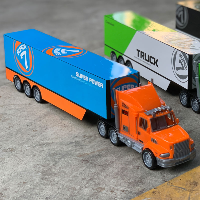 ODM OEM Logo Customized Designed Gift Promotion Children Unique Gifts 1 50 Scale Model Trucks