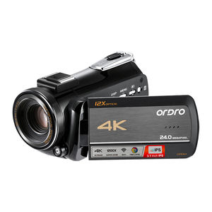 4K Professional AC5 Camcorder 3.1 Inch Touch Panel APP Control Smart Video Camera