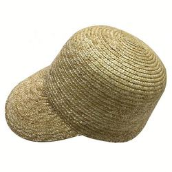 Stock New Style Wheat Straw Peaked Hat