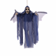 Prop Scary Decoration Hanging Ghost Voice Control Eye Wing Moving Luminous Flying Halloween Bat