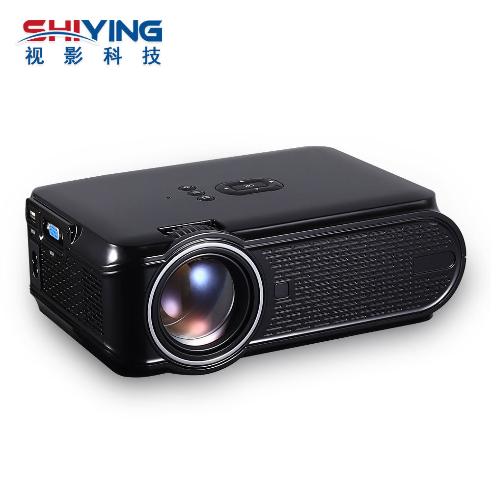 New design model 800*480P 1500 Lumens Miniature Portable Home Theater Projector with Android OS WIFI Connection