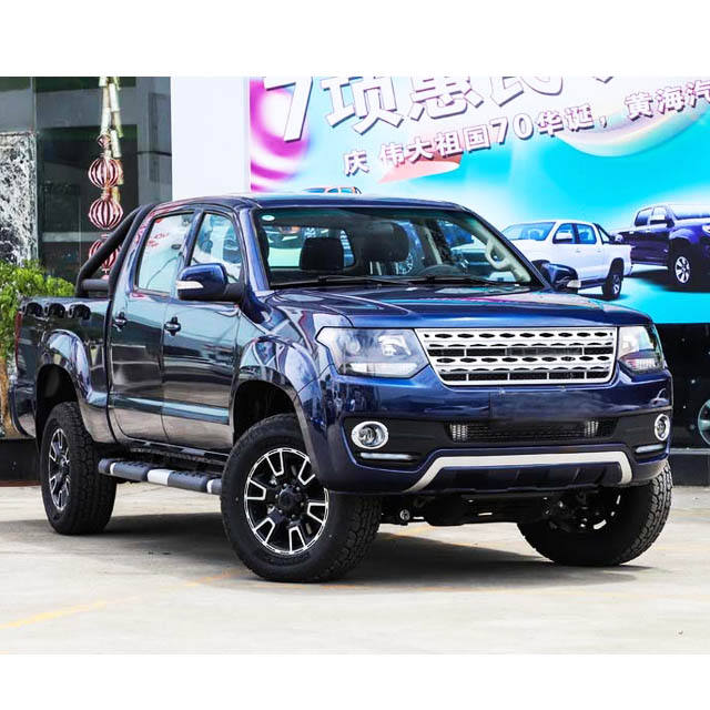 luxury pickup truck with gasoline and diesel, 2WD and 4WD
