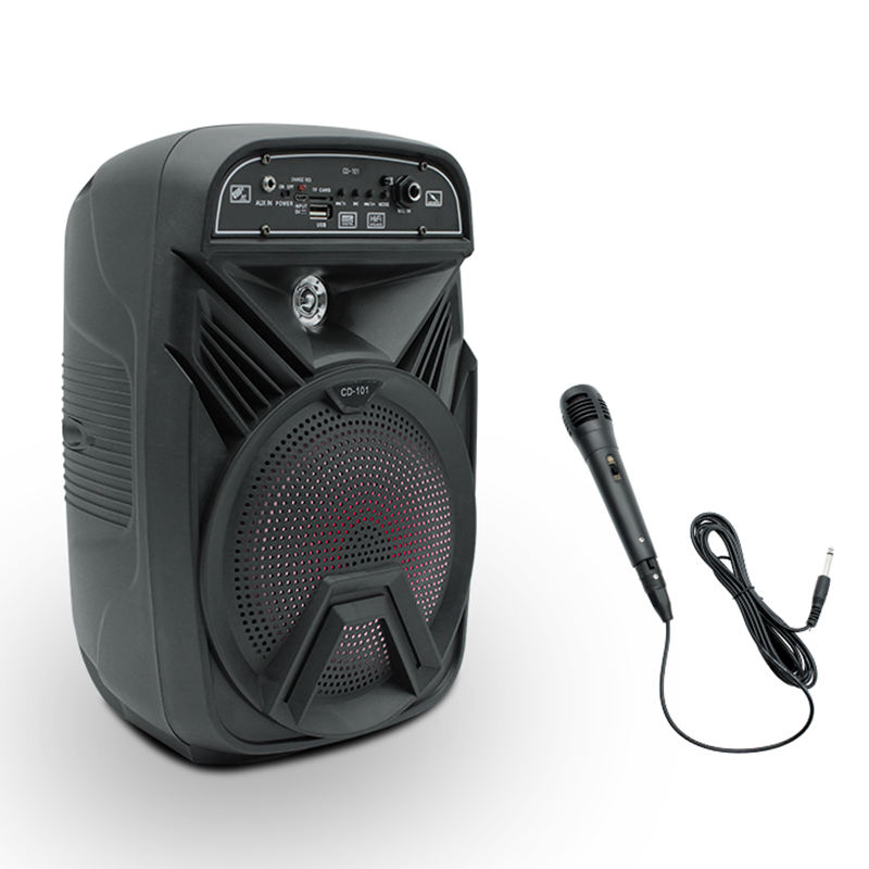 CD101 super bass portable speakers audio system for home theater 5.1 wireless bluetooth speaker