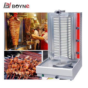 Boyne Shawarma Maker Commercial Automatic Electric Toaster Chicken Doner Kebab Shawarma Grill Equipment Machine