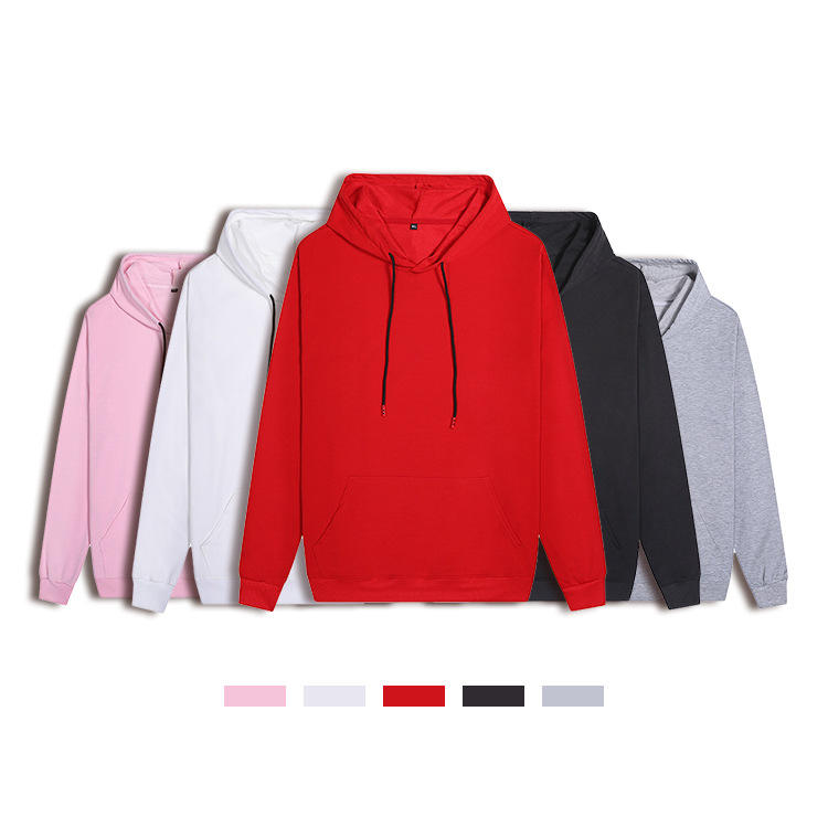 Custom embroidery Print logo cotton winter stylish sweatshirts men's hoodies