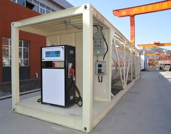 Factory Supply Mobile filling container portable fuel station Mobile Petrol Diesel Station For Sale