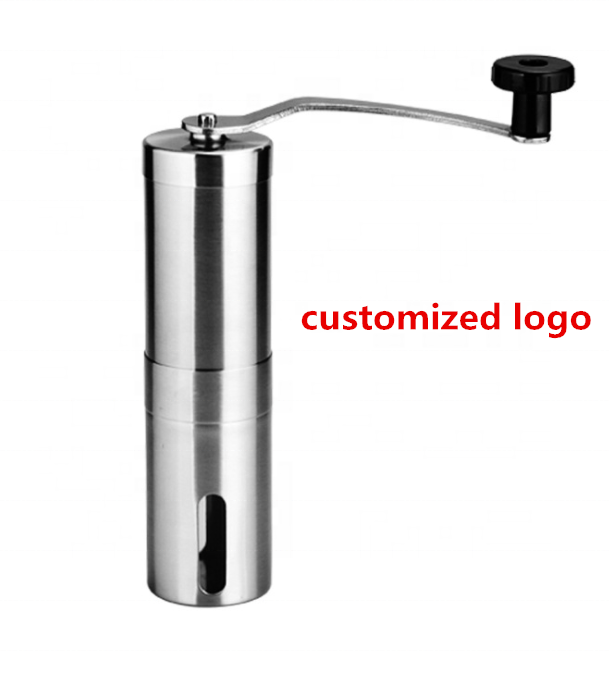Amazon Hot Sale Portable Manual Compact Coffee Grinder Stainless Steel Coffee Mill