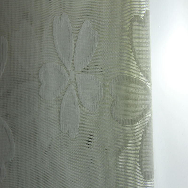Latest Curtain Fashion Designs Easy Clean White Lace Medical Curtain Fabric Shade Curtain