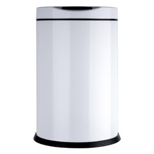 Hot sale 10L intelligent metal round kitchen touchless electric sensor waste automatic smart trash bin
