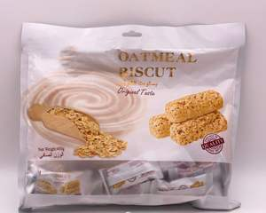 400g haute qualité chocolat d'avoine bar goût original d'avoine biscuit