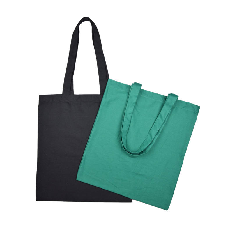 Canvas Cotton Blank Tote Bag ECO Custom With Print Logo Muslin Wholesale Shopping Organic Cotton Canvas Totes Bags