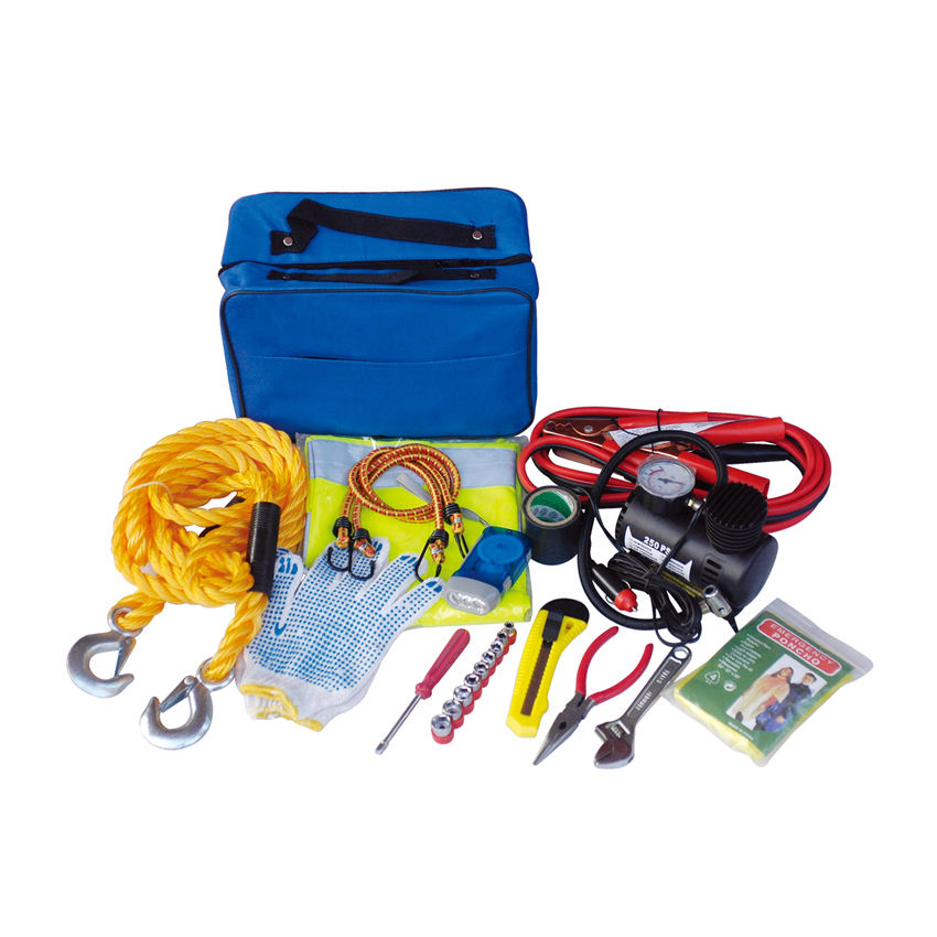 Auto Road Safety Repair Tool Portable Car Emergency Kit